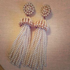 Jewelry - Pearl Tassel earrings